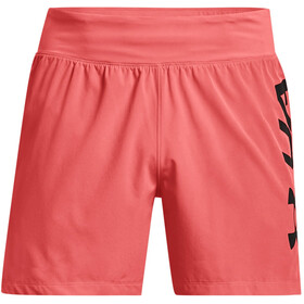 Under Armour Speedpocket 5'' Shorts Men, venom red-black